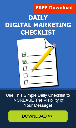 Download Your Daily Digital Marketing Checklist Now